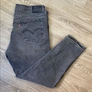 Levis grey skinny taper